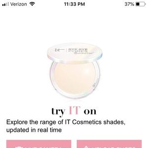 IT COSMETICS Bye Bye Pores Illumination NIB